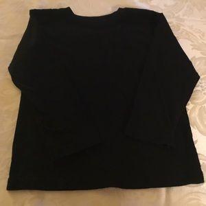 Garanimals Boys Black Long Sleeve Shirt. Size 5T